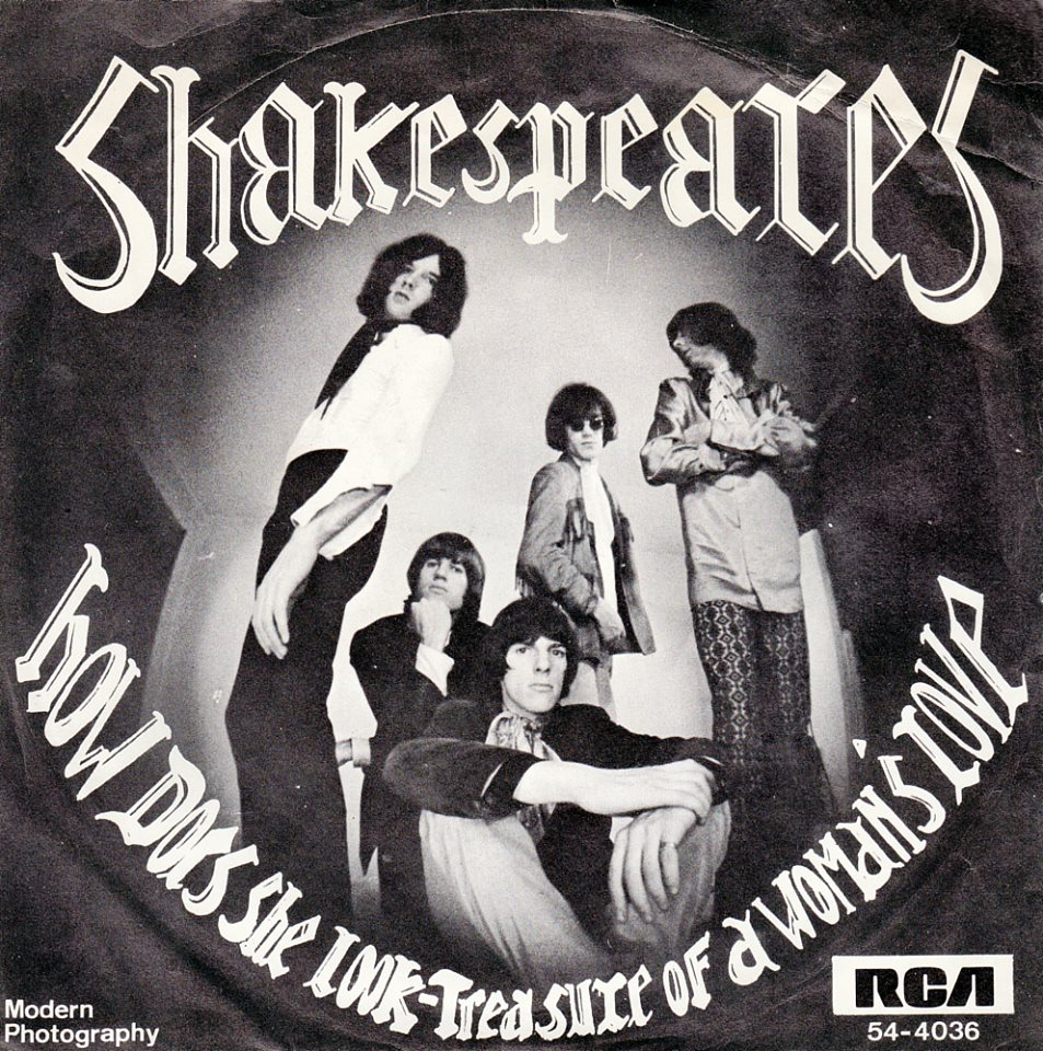 The Shake Spears - Biography of a 1960s pop group - It's